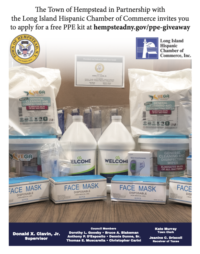 Town of Hempstead PPE Giveaway